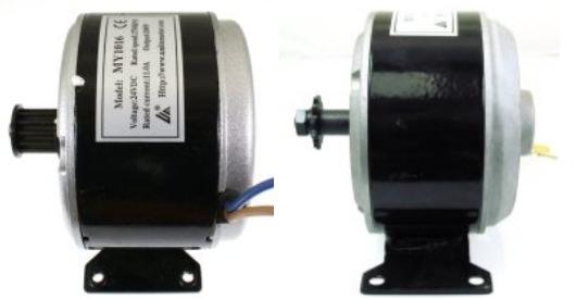 200 Watt Electric Scooter Scooters: 24 volt motors
